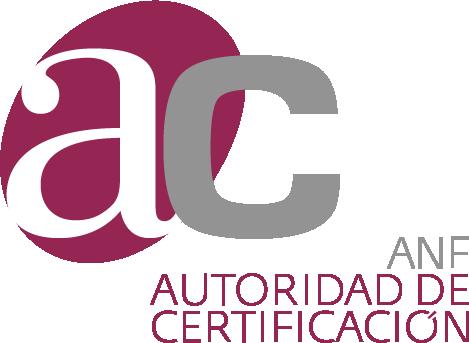 Logo ANF. Autoridad de Certificación